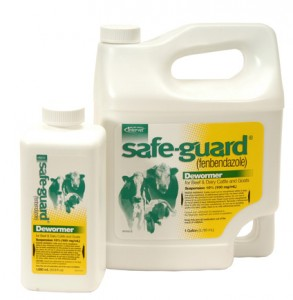 Safe-Guard 10% fenbendazole suspension dewormer for cattle and goats