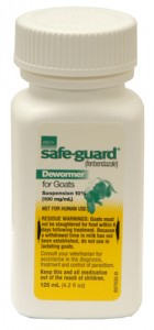 SafeGuard 10% fenbendazole dewormer 125ml