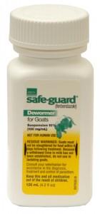 SafeGuard 10% fenbendazole dewormer 125ml