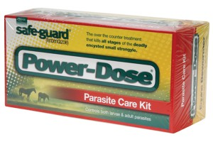 Safe-guard fenbendazole Power Dose dewormer