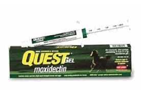 Quest gel moxidectin horse dewormer