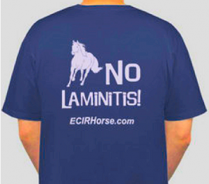No Laminitis Conference T-shirt 2011