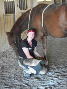 Leitha_with_demo_horse